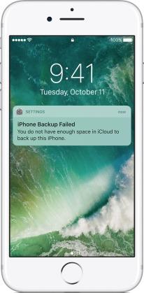 iPhone Backup has Failed