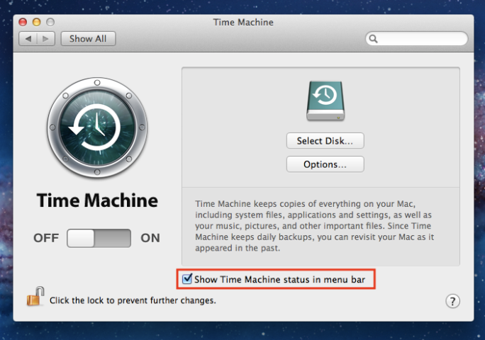 Time Machine on Menu Bar.png